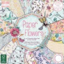 Sada papierov - Paper Flowers (15,2x15,2 cm)