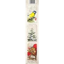 Papierový pás- Vintage Christmas 01