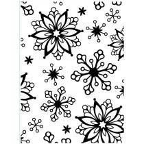 Embosovacia kapsa - snowflakes