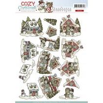 Papier A4 - Cozy christmas