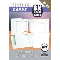 Pohľadnicové základy - 8ks