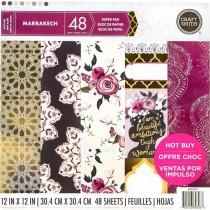 Sada papierov - Marrakech 30,5 x 30,5 cm