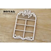 Lepenkový výrez - royal okno