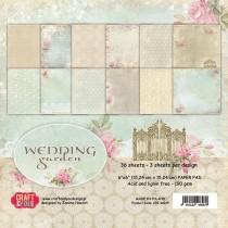 Sada papierov Wedding Garden 6x6 (12ks)