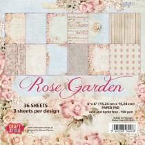 Sada papierov Rose Garden 6x6 (12ks)