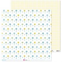 Obojstranný papier - azul bebe 5