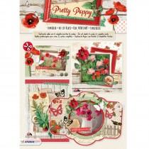3D papierová stavebnica - Pretty Poppy nr 65