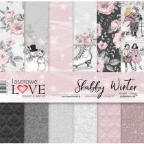 Sada papierov - Shabby Winter