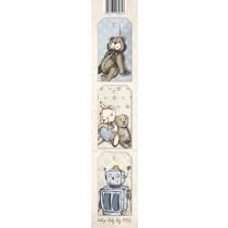 Papierový pás - Vintage Baby Boy 01