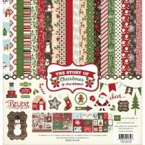 Sada papierov The Story Of Christmas  30,5x30,5