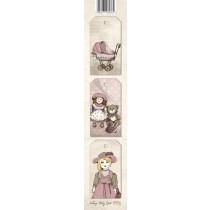 Papierový pás - Vintage Baby Girl 02