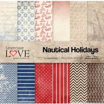 Sada papierov - Nautical Holidays