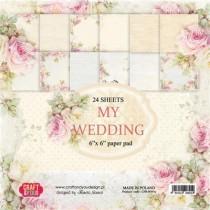Sada papierov My Wedding 6x6 (12ks)