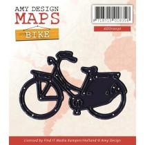 Vyrezávacia šablóna - Bicykel