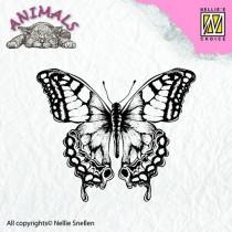 Silikónové razítka - motýľ