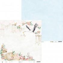 Obojstranný papier - Baby Joy 02