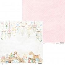 Obojstranný papier - Baby Joy 06