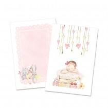 Kartičky -  Baby Joy Girl