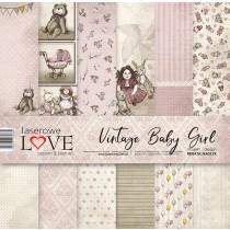 Sada papierov - Vintage Baby Girl