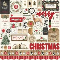 Nálepky - Christmas