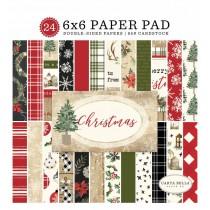 Sada papierov - Christmas  (15,2x15,2 cm)