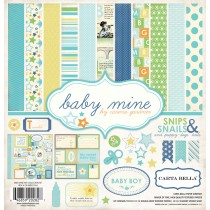 Sada papierov  Baby Mine Boy ( 30,5 x 30,5 cm)