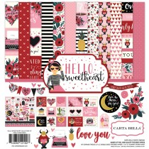 Sada papierov -  Hello Sweetheart  (30,5x30,5)