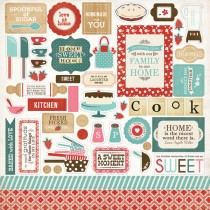 Nálepky -   Home Sweet Home