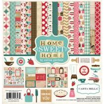 Sada papierov -  Home Sweet Home (30,5x30,5)