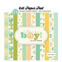 Sada papierov - It's a Boy (15,2x15,2 cm)