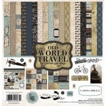 Sada papierov - Old World Travel  (30,5x30,5)