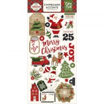 Chipboard - A Perfect Christmas