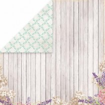 Obojstranný papier - Lavender Garden 05