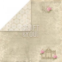 Obojstranný papier - Wedding Garden 01