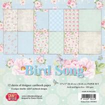 Sada papierov Bird Song 30,5x30,5 cm (6ks)