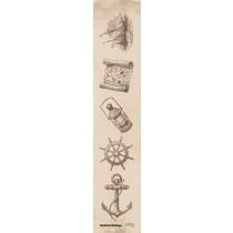 Papierový pás - Nautical Holidays 01