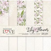Sada papierov - Lily Flowers