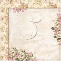 Obojstranný papier -  Houses Of Roses EXTRA 01