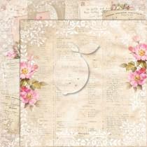 Obojstranný papier -  Houses Of Roses EXTRA 07