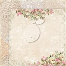 Obojstranný papier -  Houses Of Roses EXTRA 08