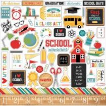 Nálepky - Back to School