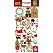 Chipboard -  Celebrate Christmas