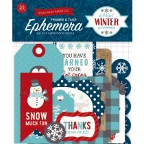 Echo Park A Perfect Winter Ephemera Frames & Tags (APW136021)