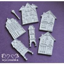 Pečiatky - old town domčeky