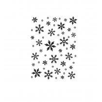 Embosovacia kapsa - snowflake