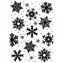 Embossovacia kapsa - Snowflakes