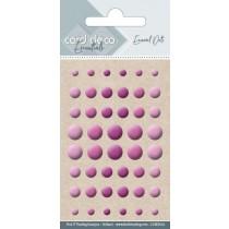 Enamel dots - Pink