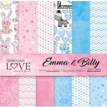 Sada papierov - Emma & Billy