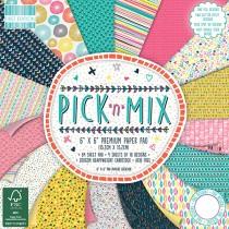 Sada papierov - Pick N Mix  (15,2x15,2 cm)