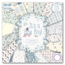 Sada papierov - It's a boy (15,2x15,2 cm)